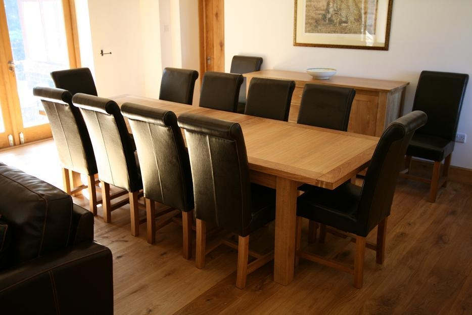 Perfect Decoration Extra Long Dining Table Peachy Ideas Extra With Dining Table And 10 Chairs (View 12 of 20)