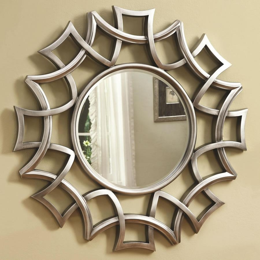 Perfect Decorative Wall Mirrors For Living Room | Jeffsbakery For Circular Wall Mirrors (Image 15 of 20)