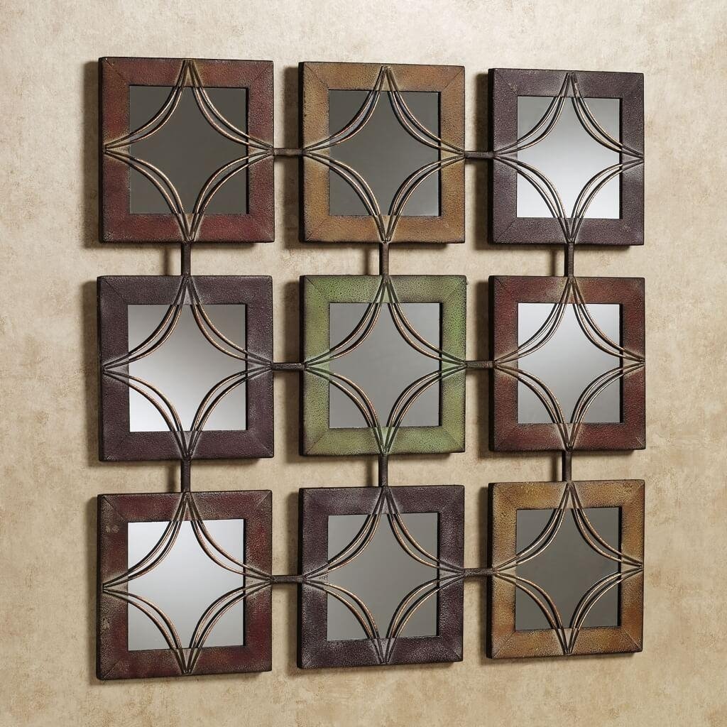 Perfect Decorative Wall Mirrors For Living Room | Jeffsbakery In Decorative Round Mirrors (Image 15 of 20)