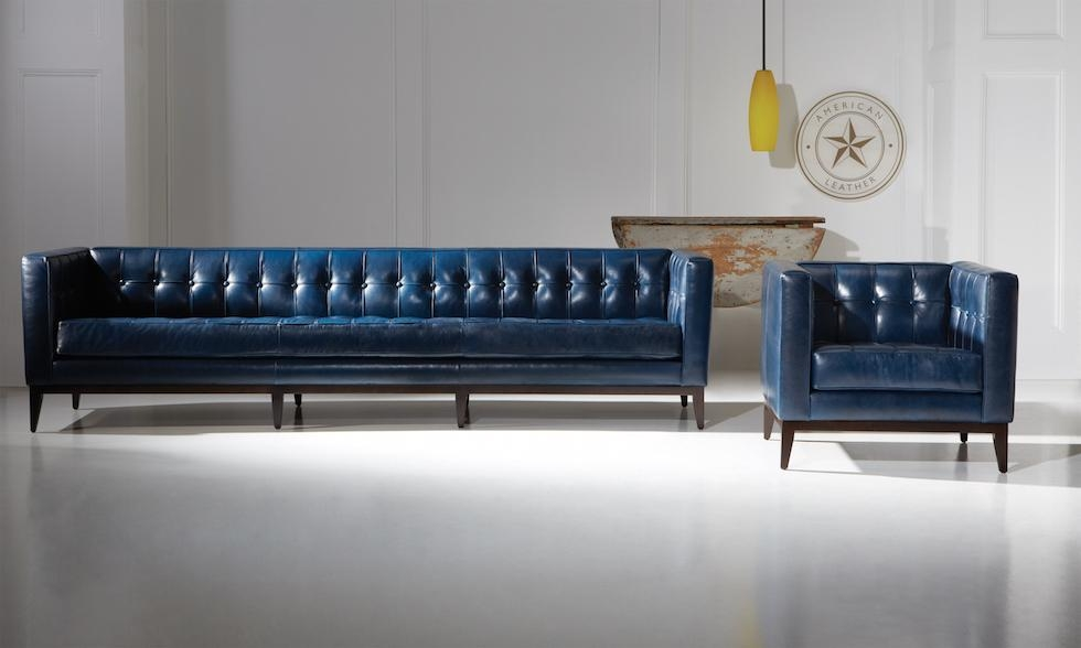Perlora Modern & Leather Furniture, Pittsburghamerican Leather Pertaining To Luxe Sofas (View 13 of 20)