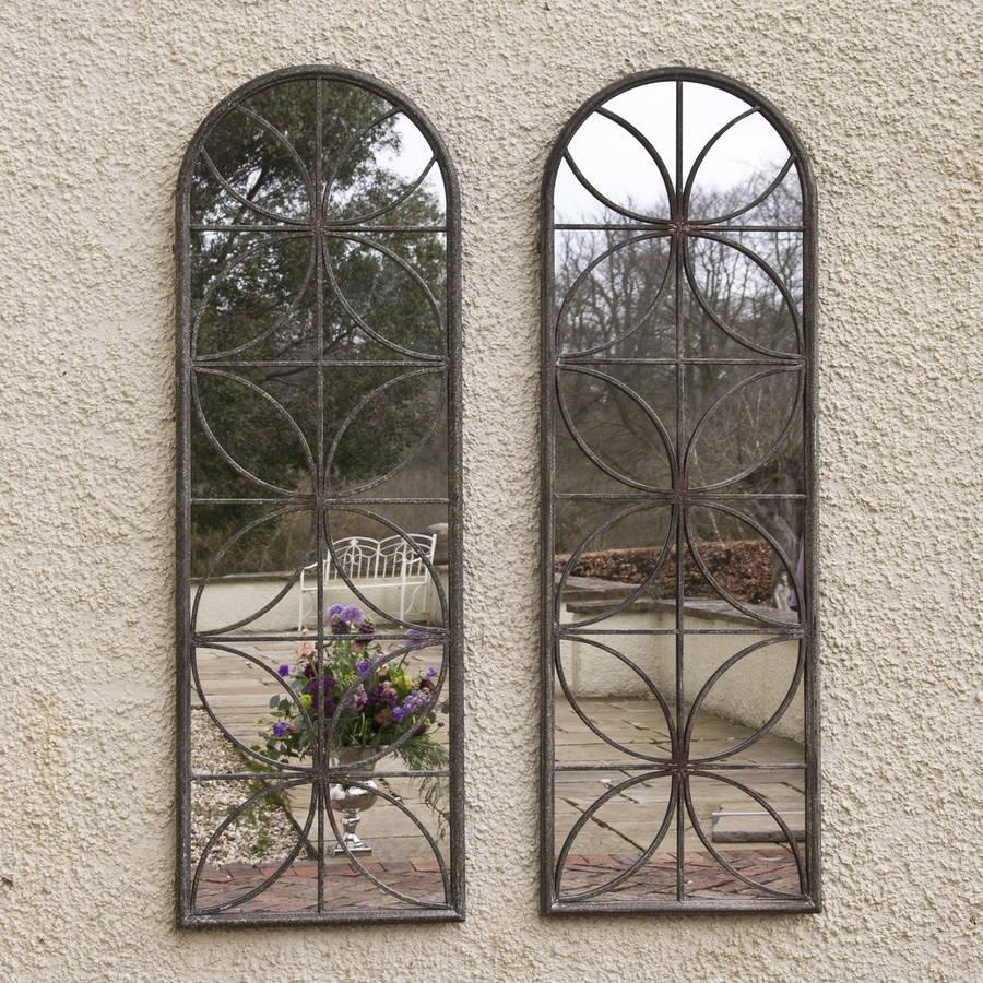 Petal Garden Mirrordecorative Mirrors Online For Garden Mirrors For Sale (Image 16 of 20)