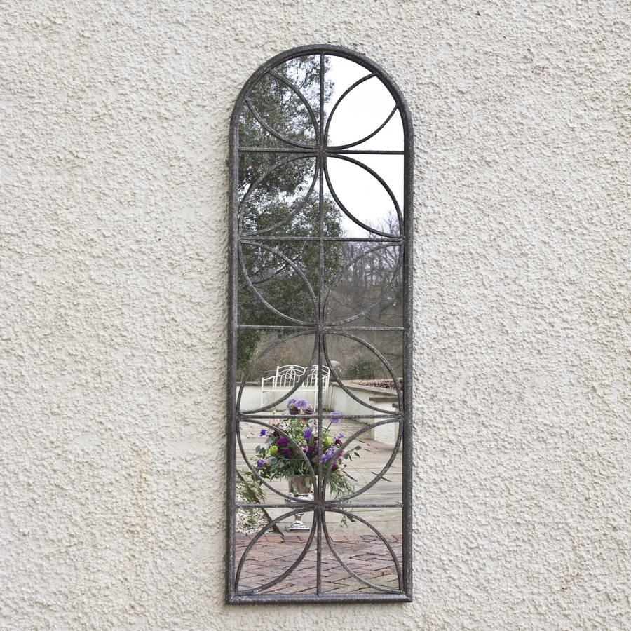 Petal Garden Mirrordecorative Mirrors Online With Regard To Garden Mirrors For Sale (Image 18 of 20)