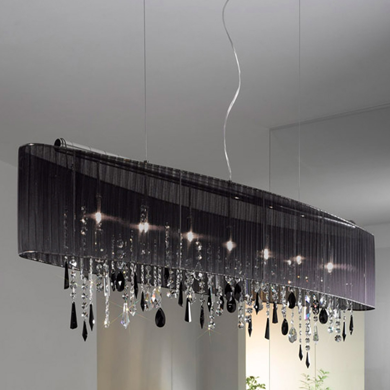 Phenomenal Chandelier Shades Black Picture Ideas Perfect Design Regarding Black Chandeliers With Shades (Image 17 of 25)