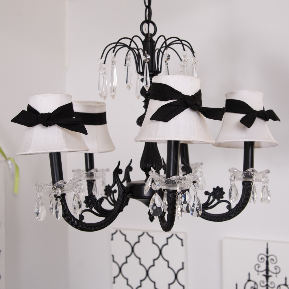 Phenomenal Chandeliers Black Picture Ideas Brass With Mini Intended For Chandeliers With Black Shades (Image 22 of 25)
