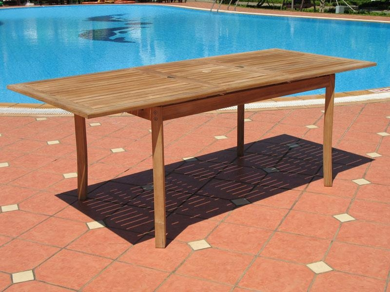 Phenomenal Expandable Outdoor Dining Table | All Dining Room Intended For Outdoor Extendable Dining Tables (Image 17 of 20)
