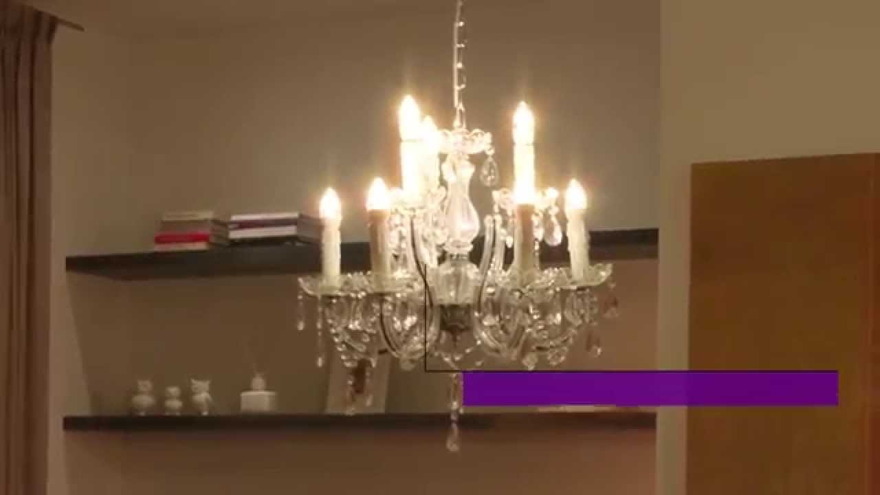 Philips Led Decorative Candle Bulbs Youtube Inside Led Candle Chandeliers (Image 18 of 25)