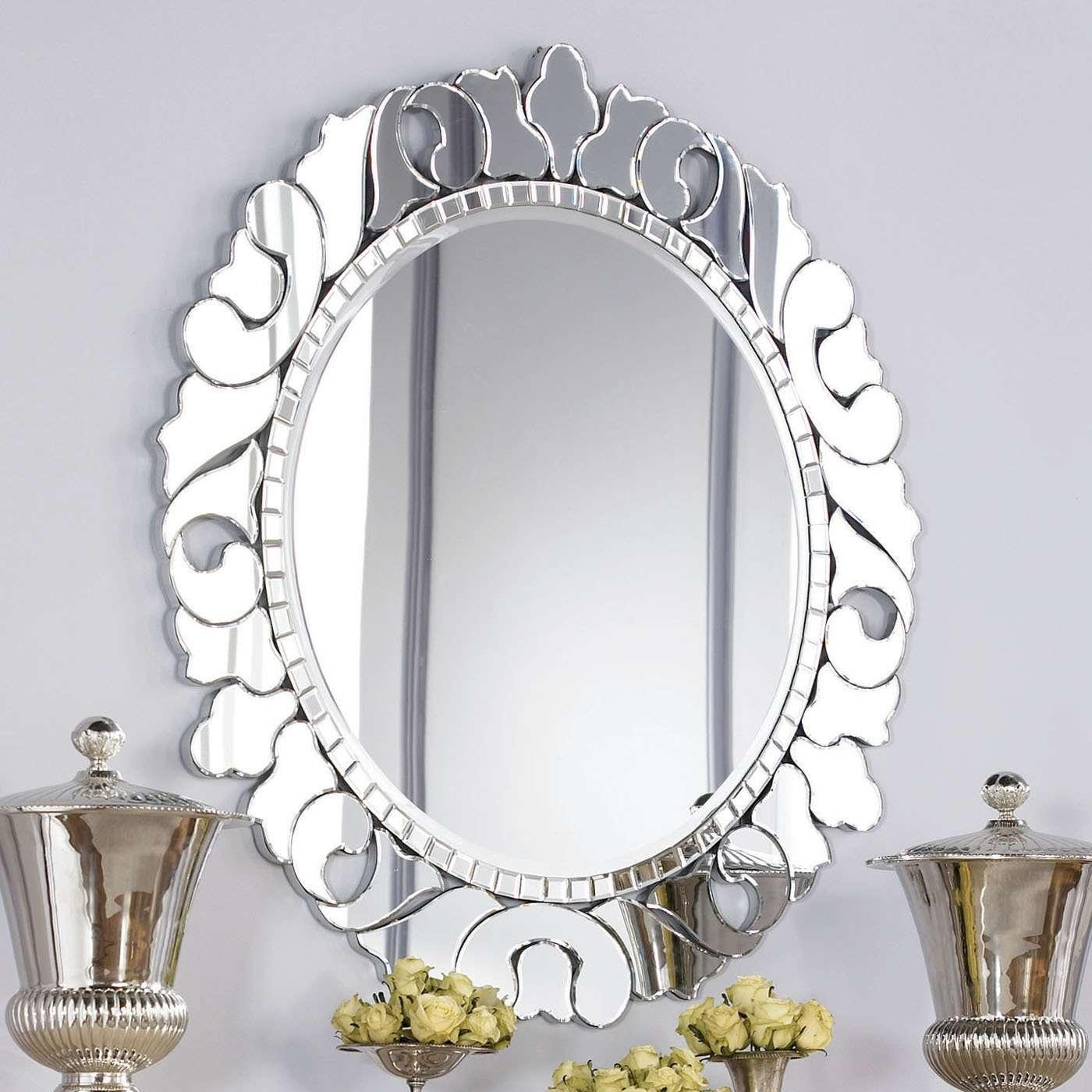 Photos: Jessica Mcclintock Couture Round Venetian Decorative Regarding Small Venetian Mirror (Image 14 of 20)