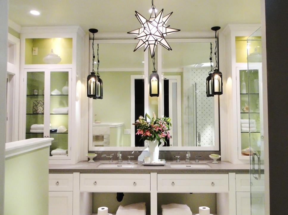 Pictures Of Bathroom Lighting Ideas And Options Diy Within Chandelier Bathroom Lighting Fixtures (Image 19 of 25)
