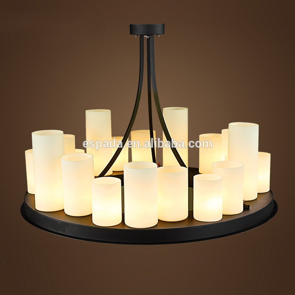 Pillar Candle Chandelier Pillar Candle Chandelier Suppliers And In Led Candle Chandeliers (Image 19 of 25)