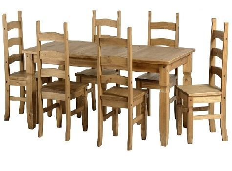 Pine And Other Dining Tables And Chairs – Cooks Furnishings Pertaining To Rio Dining Tables (View 3 of 20)