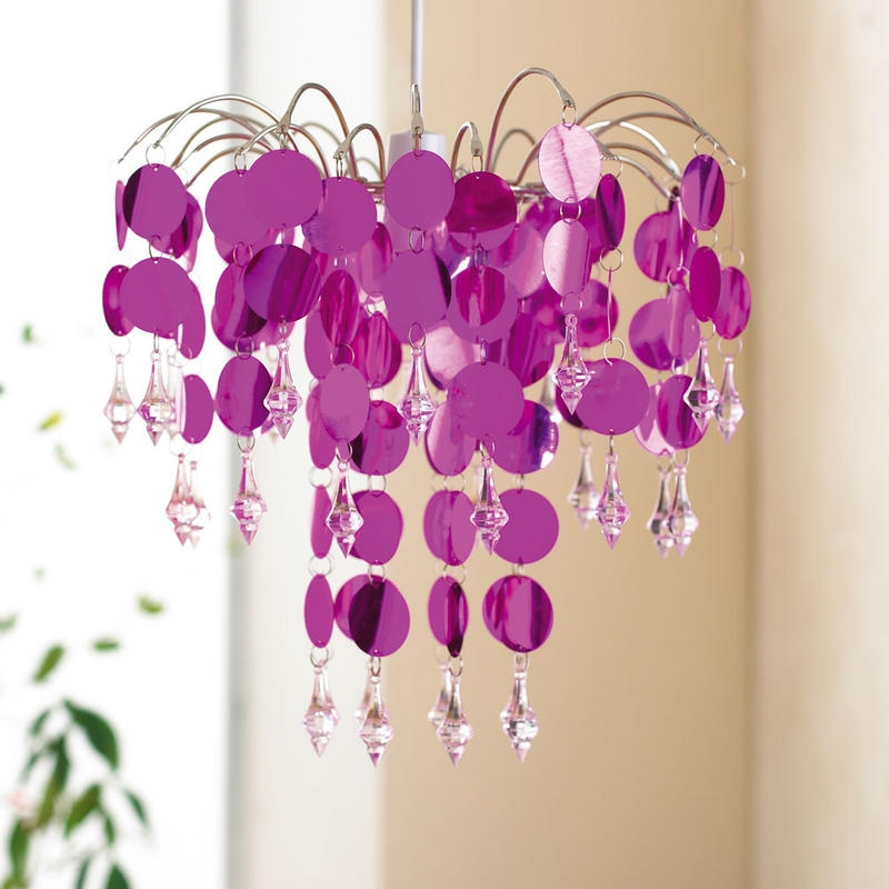 Pink Kids Chandelier Eva Furniture Throughout Chandeliers For Kids (View 20 of 25)