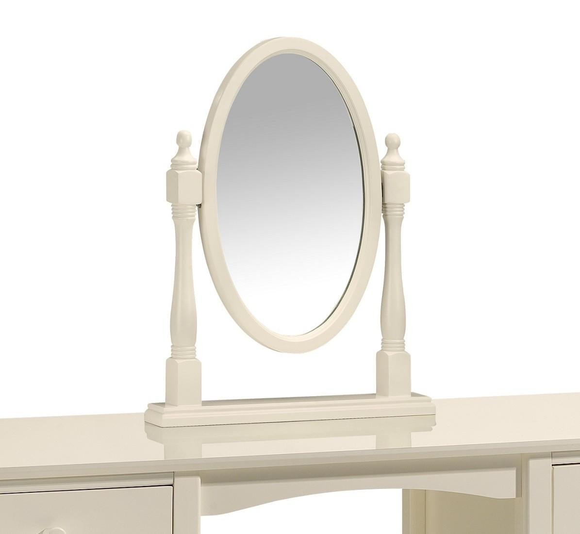 Plain Dressing Table Mirror In Inspiration In Oval Cream Mirror (Image 15 of 20)