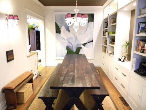 Top 20 Indoor Picnic Style Dining Tables | Dining Room Ideas
