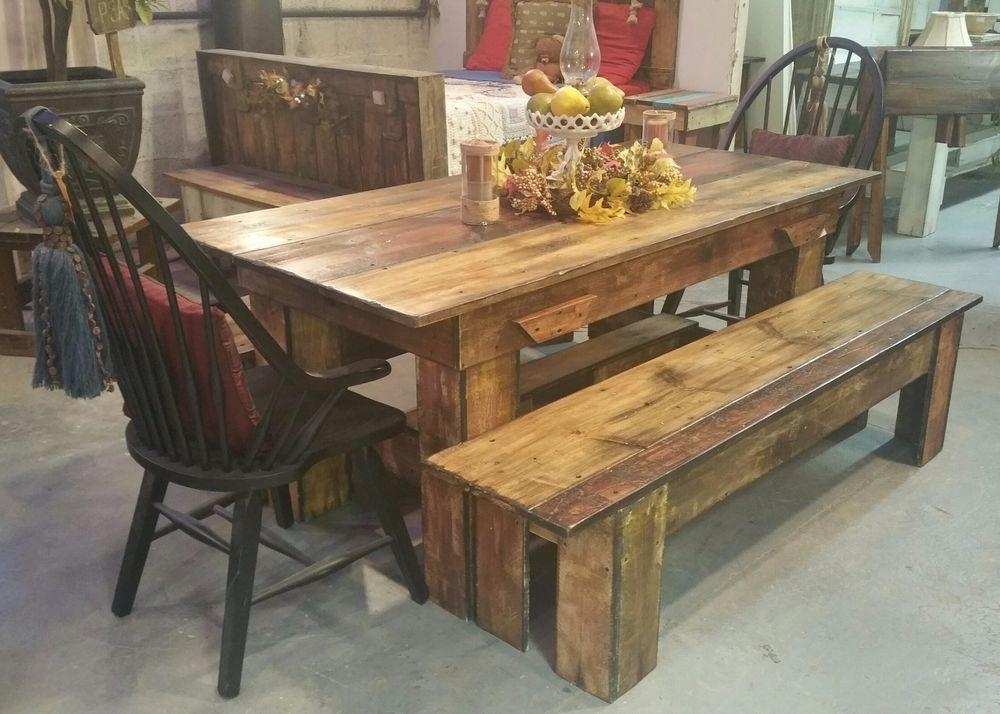 Plain Rustic Dining Room Tables Table Sets Glass Top On U And Ideas In Rustic Dining Tables (View 13 of 20)