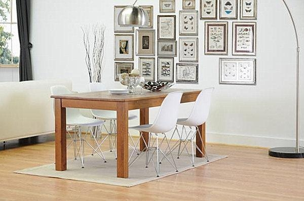 Plastic Dining Chairs With Wooden Legs | Chairs To Decorate In Clear Plastic Dining Tables (View 11 of 20)