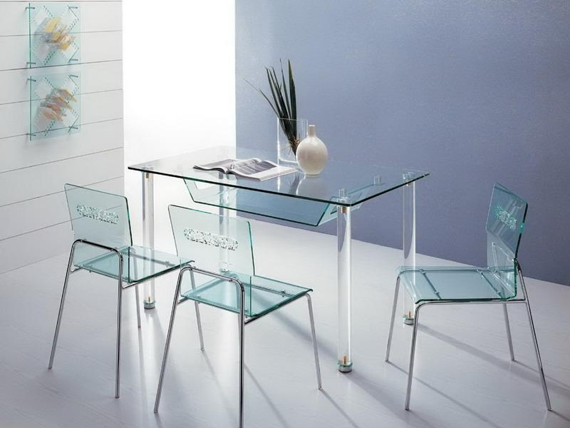 Plastic Dining Table Set Online | Dining Chairs Design Ideas Intended For Clear Plastic Dining Tables (View 6 of 20)