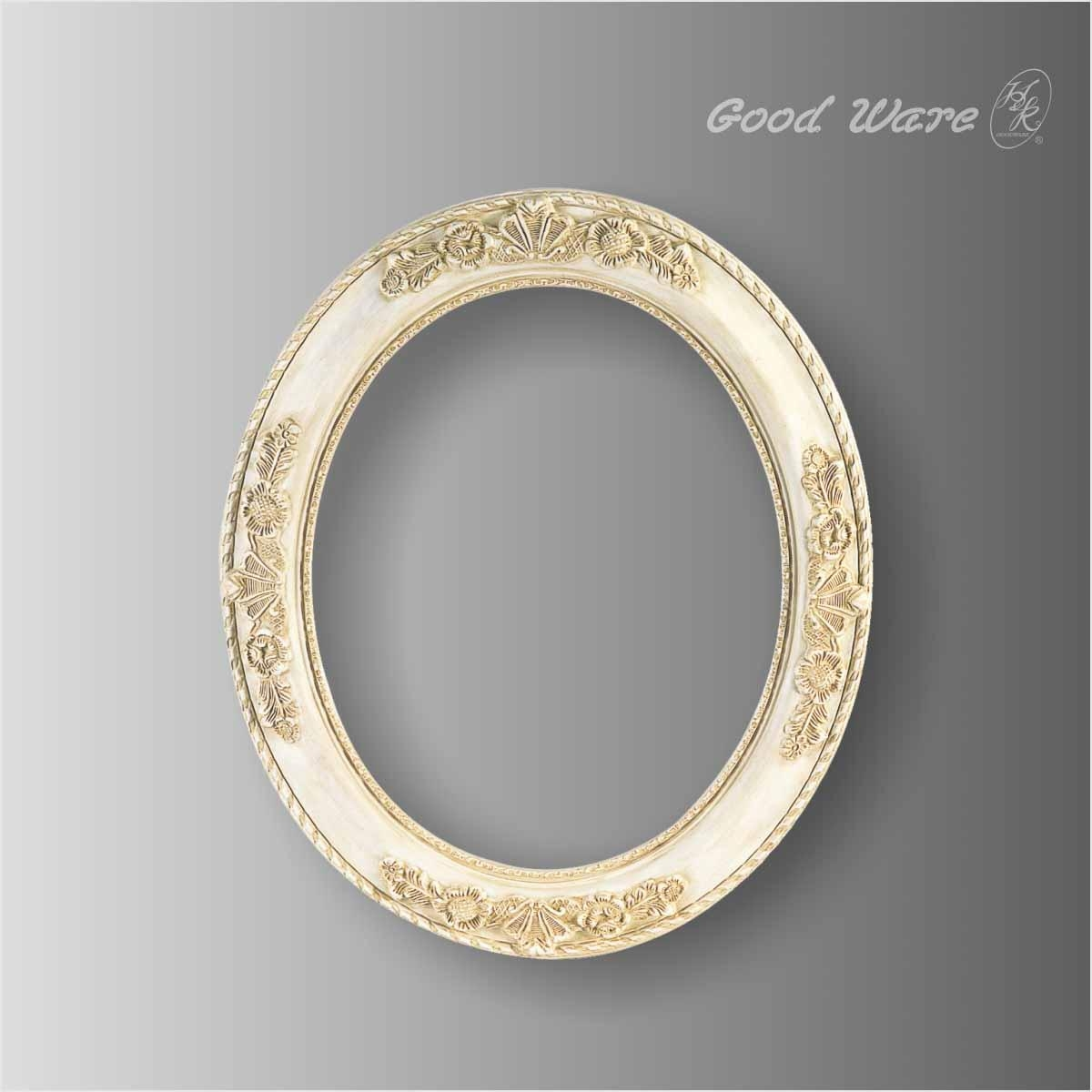 Polyurethane Antique Round Small Mirror Frames | Mirror Frame Supplier Regarding Antique Round Mirror (Image 16 of 20)