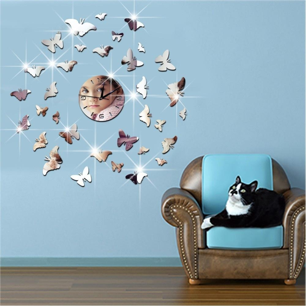 Popular Butterfly Wall Mirrors Buy Cheap Butterfly Wall Mirrors Regarding Butterfly Wall Mirrors (Image 16 of 20)