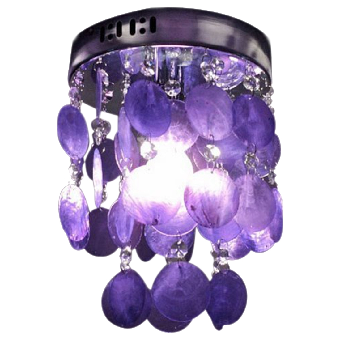 Popular Crystal Chandeliers Lowes Buy Cheap Crystal Chandeliers Regarding Purple Crystal Chandelier Lights (Image 18 of 25)