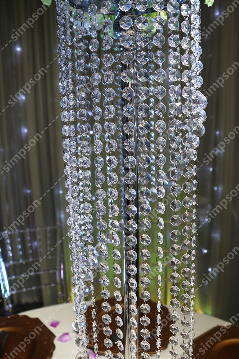 Popular Crystal Wedding Centerpiece Buy Cheap Crystal Wedding With Regard To Faux Crystal Chandeliers (View 20 of 25)