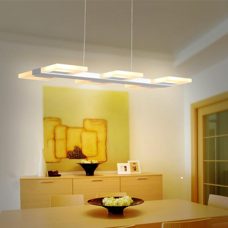 Popular Dining Table Lighting Buy Cheap Dining Table Lighting Lots Intended For Led Dining Tables Lights (View 15 of 20)