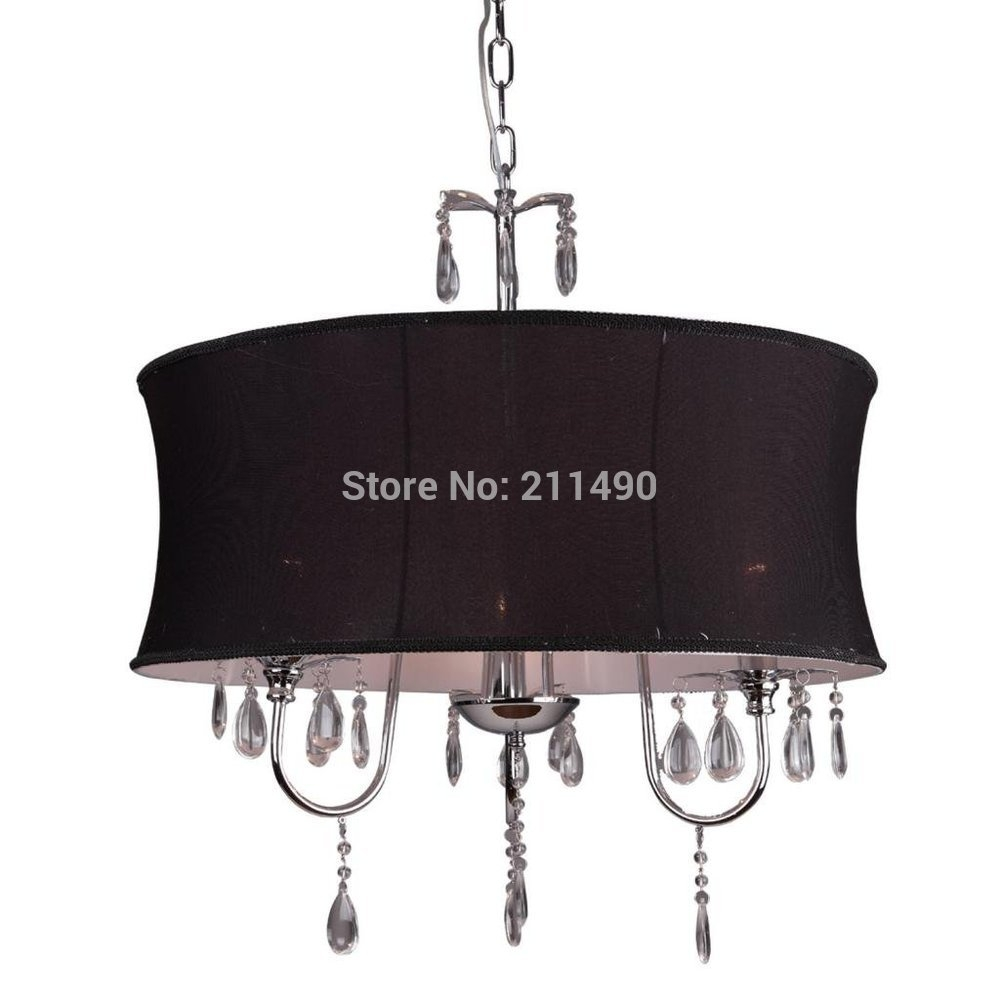 Popular Drum Shade Chandelier Buy Cheap Drum Shade Chandelier Lots With Fabric Drum Shade Chandeliers (Image 23 of 25)