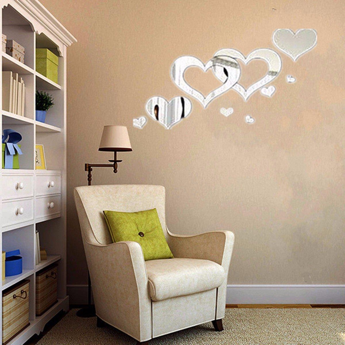 Popular Heart Shaped Mirrors Buy Cheap Heart Shaped Mirrors Lots Regarding Heart Shaped Mirrors For Walls (Image 16 of 20)