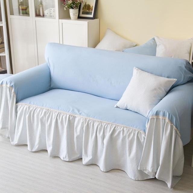 Popular Light Blue Sofa Buy Cheap Light Blue Sofa Lots From China With Regard To Blue Slipcover Sofas (Image 17 of 20)