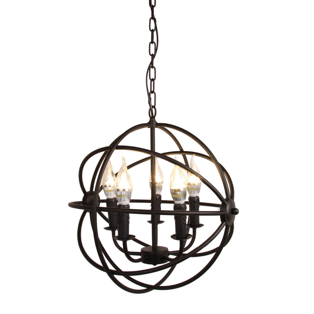 Popular Metal Ball Chandelier Buy Cheap Metal Ball Chandelier Lots In Metal Ball Candle Chandeliers (Image 22 of 25)