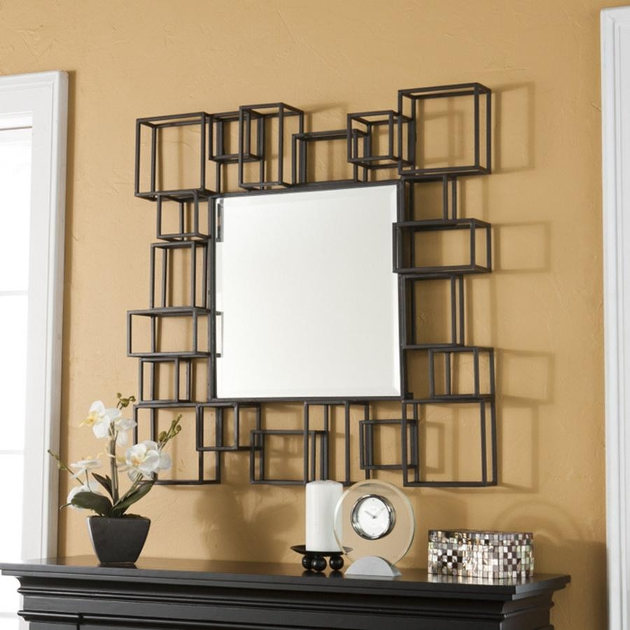 Popular Modern Decorative Wall Mirrors | Jeffsbakery Basement Inside Rod Iron Mirrors (Image 15 of 20)