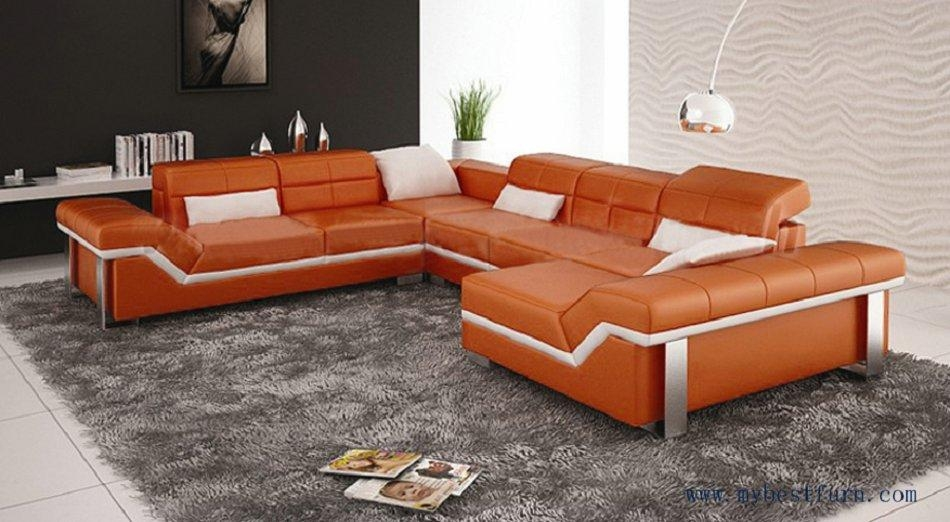 Popular Orange Furniture Buy Cheap Orange Furniture Lots From Throughout Orange Modern Sofas (Image 17 of 20)
