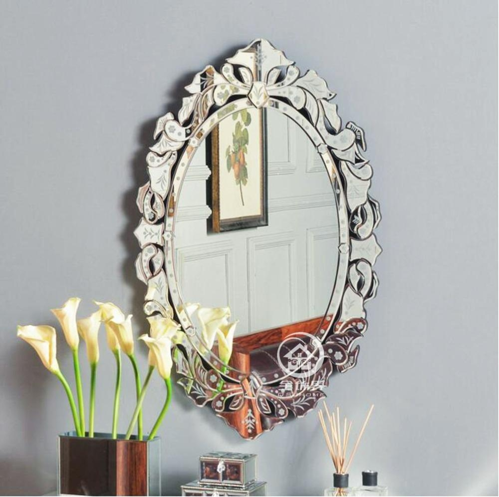 Popular Oval Venetian Mirror Buy Cheap Oval Venetian Mirror Lots Within Venetian Oval Mirror (Image 15 of 20)