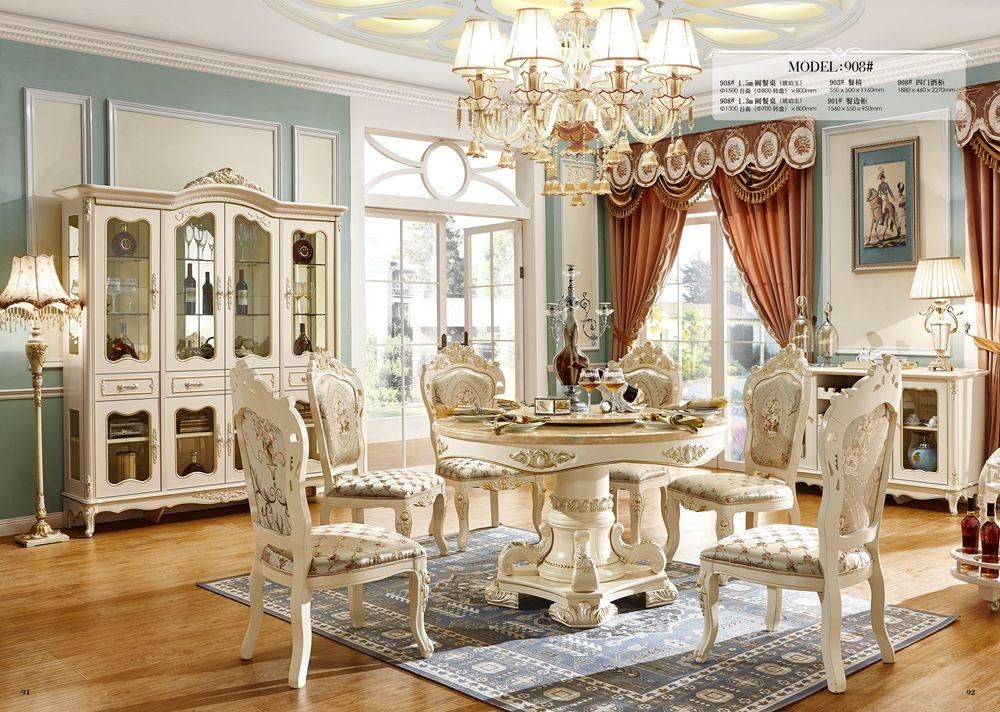 Popular Royal Dining Chairs Buy Cheap Royal Dining Chairs Lots Inside Royal Dining Tables (Image 12 of 20)