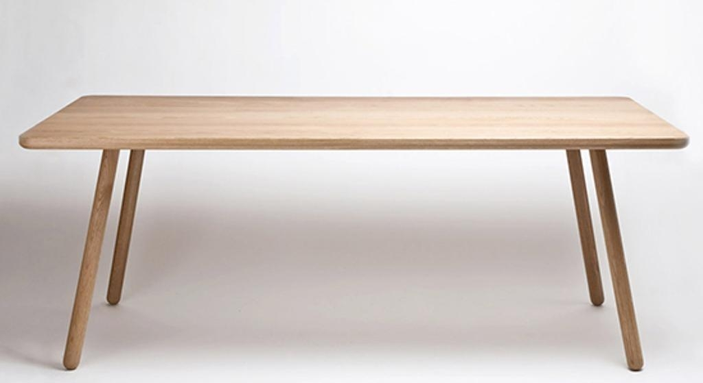 Popular Scandinavian Dining Table Style — Prefab Homes Throughout Danish Style Dining Tables (Image 12 of 20)