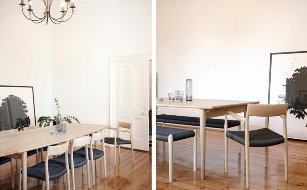 Popular Scandinavian Dining Table Style — Prefab Homes Within Danish Style Dining Tables (Image 14 of 20)