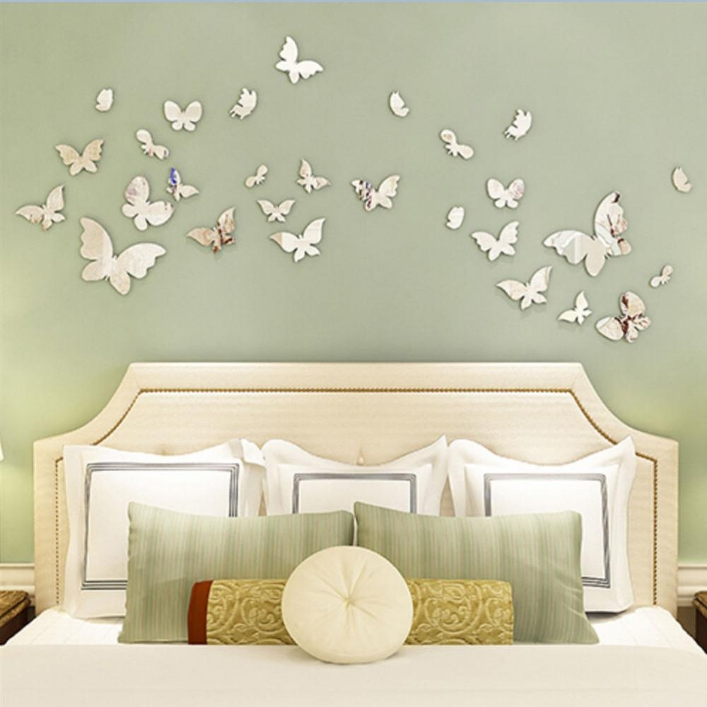 Popular Wall Butterfly Mirrors Buy Cheap Wall Butterfly Mirrors Within Butterfly Wall Mirrors (Image 20 of 20)