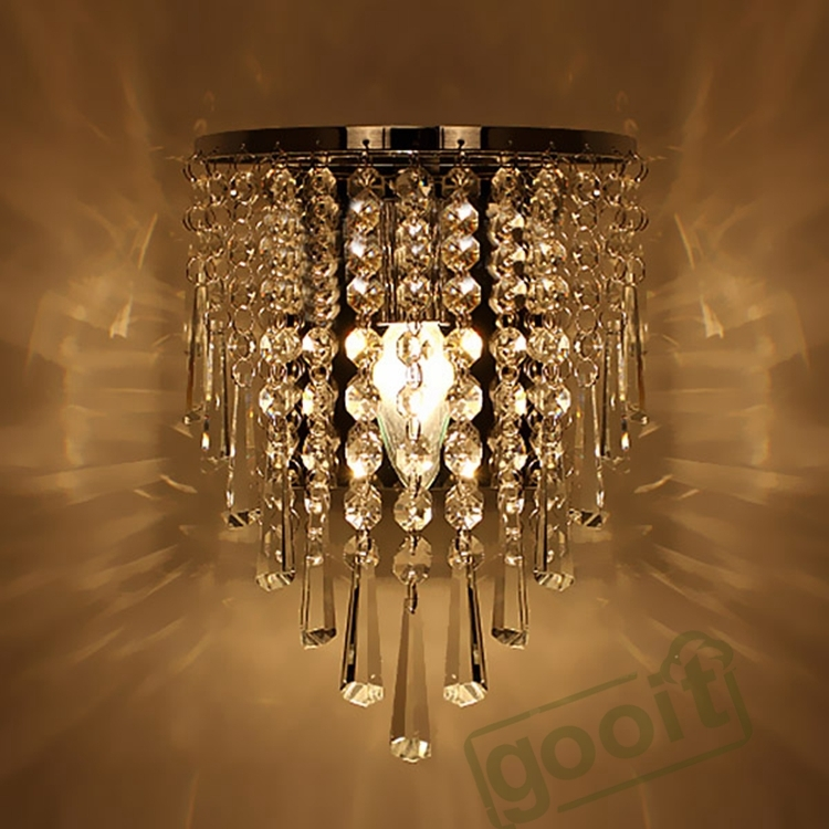 Popular Wall Mounted Chandelier Buy Cheap Wall Mounted Chandelier Inside Wall Mount Crystal Chandeliers (View 5 of 25)