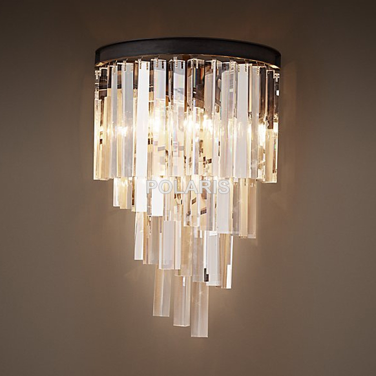 Popular Wall Mounted Chandelier Buy Cheap Wall Mounted Chandelier Intended For Wall Mount Crystal Chandeliers (Image 19 of 25)
