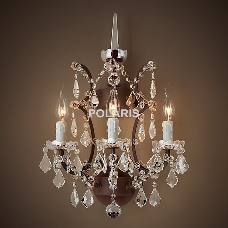 Popular Wall Mounted Chandelier Buy Cheap Wall Mounted Chandelier Throughout Wall Mount Crystal Chandeliers (View 3 of 25)