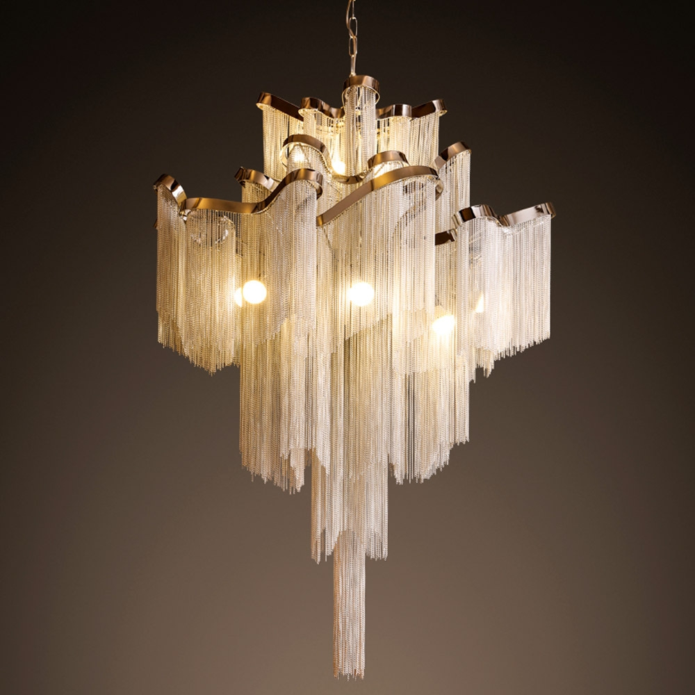 Featured Image of Waterfall Chandeliers