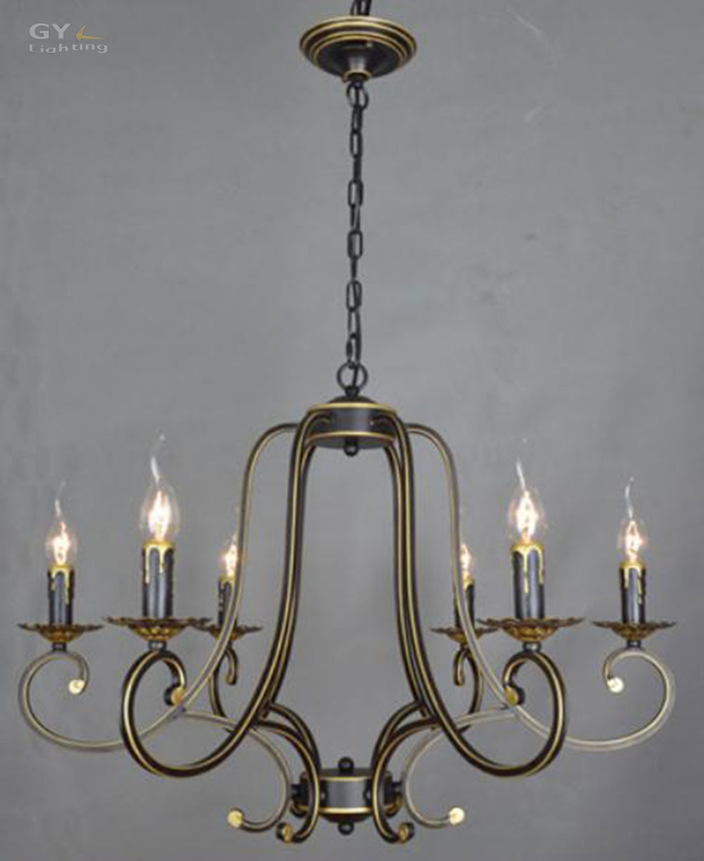 Popular Wrought Iron Candle Chandelier Buy Cheap Wrought Iron In Metal Ball Candle Chandeliers (Image 23 of 25)