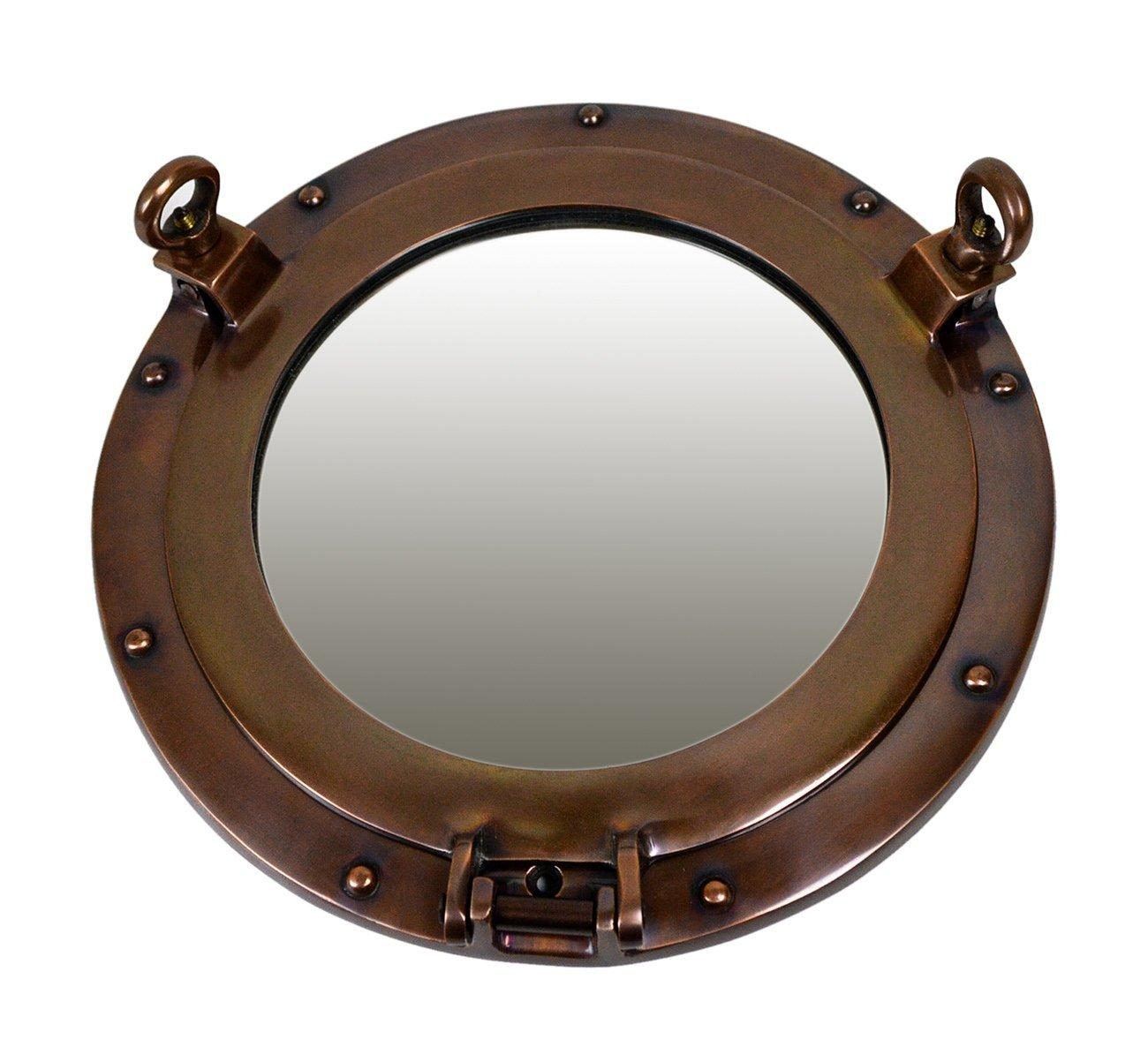 Porthole Windows Porthole Mirrors Largest Selection Ships Port Holes Throughout Porthole Mirrors For Sale (Image 15 of 20)