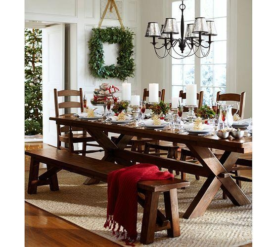 Pottery Barn Dining Table (Image 3 of 20)