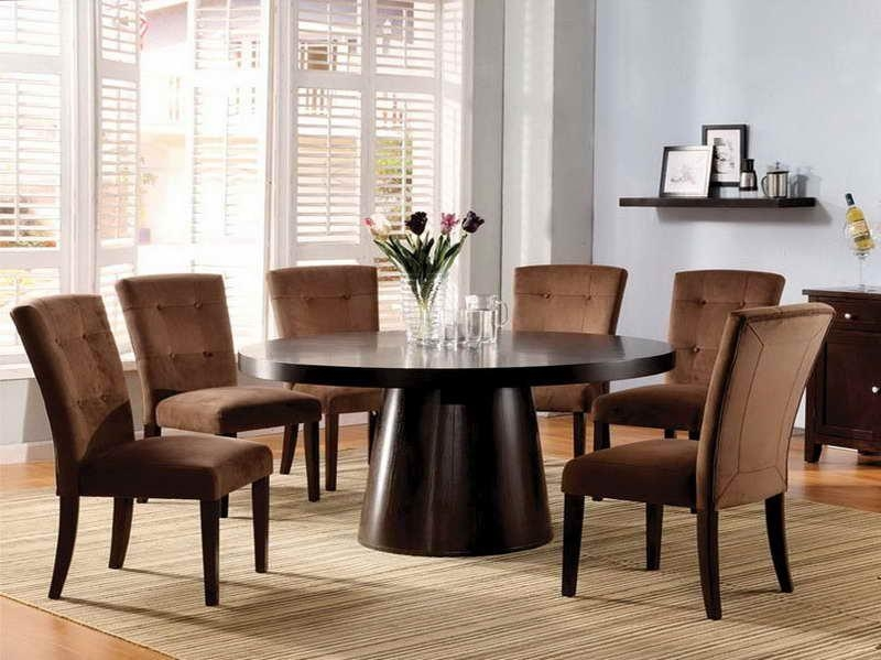 Pottery Barn Dining Table On Dining Room Table With Amazing Round Pertaining To Circular Dining Tables (Image 17 of 20)