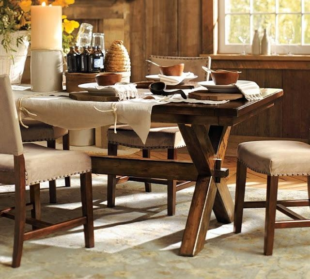 Pottery Barn Toscana Dining Table – Copycatchic With Regard To Toscana Dining Tables (Image 4 of 20)
