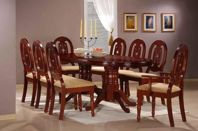 Pretty Design Ideas Dining Table Set For 8 | All Dining Room For Dining Tables Set For  (Image 16 of 20)
