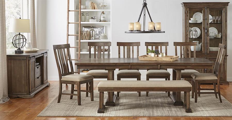 Prices • A America Dawson Wt Dining Furniture • Al's Woodcraft Regarding Dawson Dining Tables (View 17 of 20)