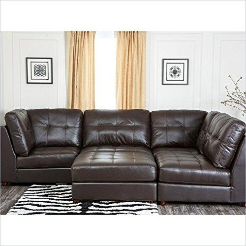 Product Reviews | Buy Abbyson Living Sonora Sf 4000 Brn 5 Piece Intended For Abbyson Living Sectional Sofas (Image 17 of 20)
