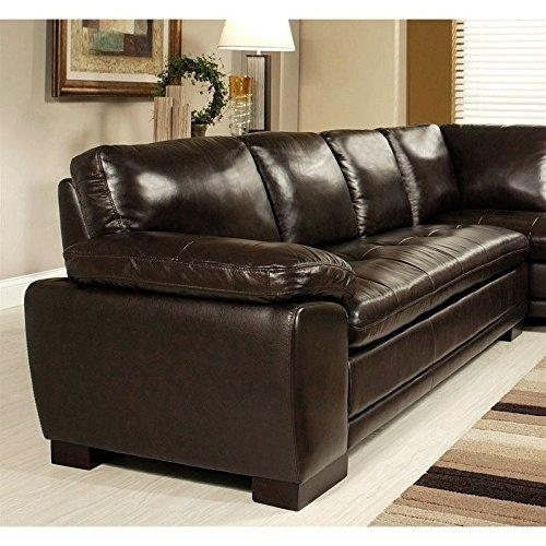 Product Reviews | Buy Abbyson Living Tivoli Ci N680 Brn Stationary Inside Abbyson Sectional Sofas (Image 17 of 20)