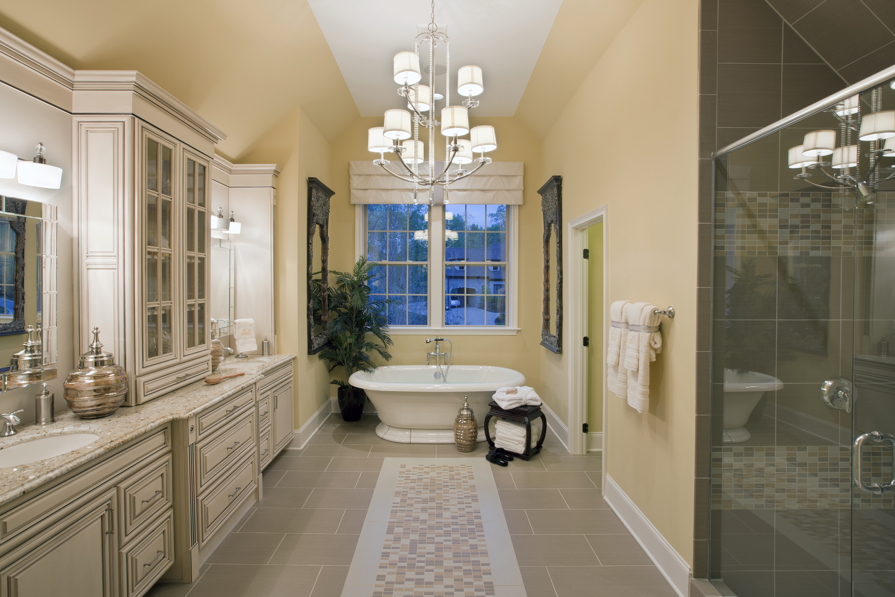 Progress Lighting 5 Unexpected Ways To Light Your Bathroom With Regard To Bathroom Chandelier Lighting (Image 19 of 25)